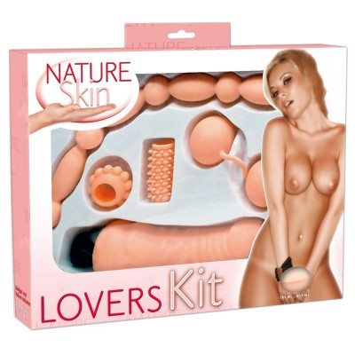 Pack de juguetes sexuales tacto natural